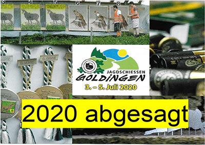 Absage Goldinger Jagdschiessen